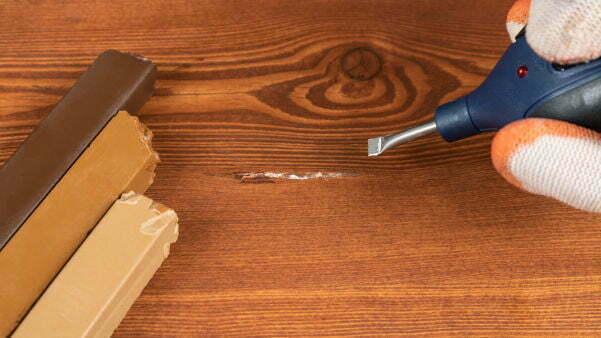 Beschadiging laminaat verhelpen